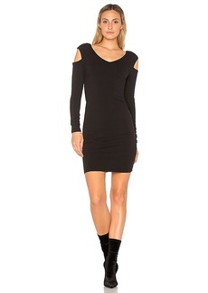 LA Made Belize Dress in Black. - size L (also in M,S,XS)