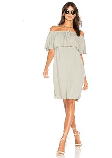 LA Made Bella Dress in Gray. - size M (also in S,XS)