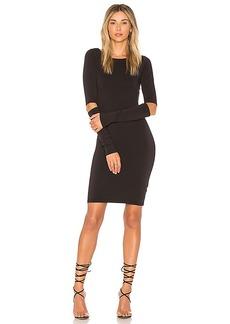 LA Made Bobbi Dress in Black. - size L (also in M,S,XS)