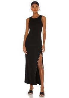 LA Made Cabana Side Snap Maxi Dress