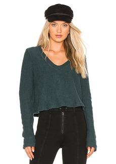 LA Made Carine Crop Sweater
