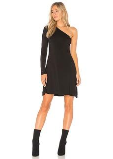 LA Made Gretta Dress in Black. - size L (also in M,S,XS)