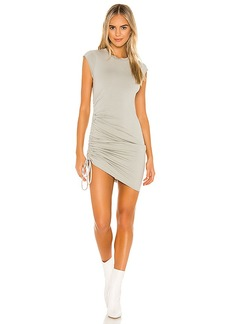 LA Made Indie Side Ruched Dress