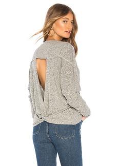 LA Made Intermingle Twist Back Sweater