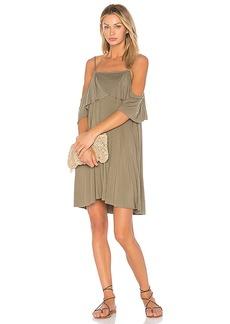 LA Made Iris Dress in Gray. - size L (also in M,S,XS)