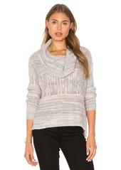 LA Made Jody Cowl Neck Sweater