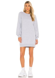 LA Made Just Landed Pullover Sweatshirt Dress