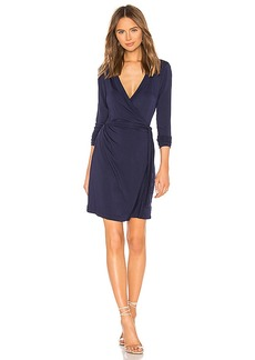 LA Made Lenore Wrap Dress