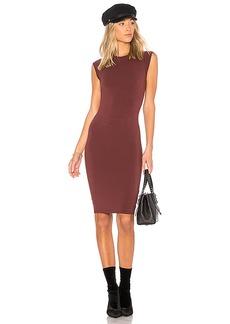 LA Made Obi Dress in Wine. - size M (also in S,XS)
