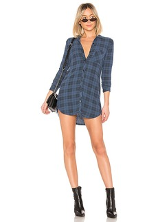 LA Made Oxford Tunic Dress