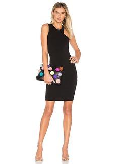 LA Made Sarah Bodycon Dress in Black. - size L (also in M,S,XS)