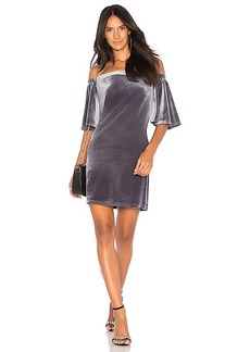 LA Made Sophie Dress in Gray. - size L (also in M,S,XS)