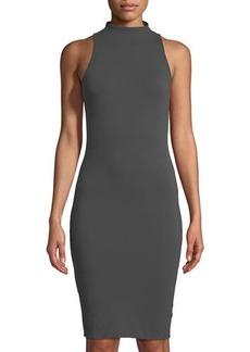 LA Made Suzie Mock-Neck Bodycon Dress