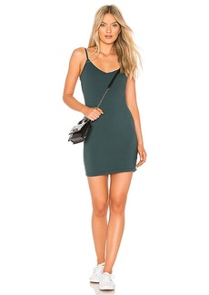 LA Made V Neck Dress