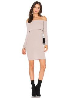 LA Made Veronica Dress in Lavender. - size L (also in M,S,XS)