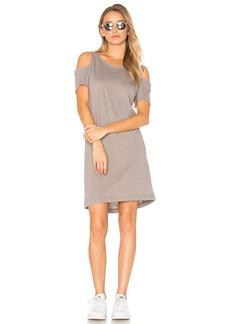 LA Made Zadeth Cold Shoulder Tee Dress