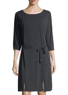 LA Made Zander 3/4-Sleeve Jersey Dress