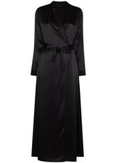 La Perla belted silk robe