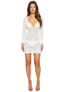 La Perla Beyond The Beach Long Sleeve Short Dress