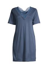 La Perla Bianca Lace Trim Sleepshirt