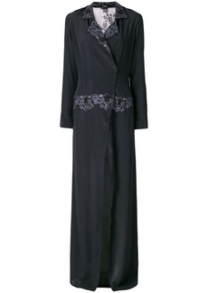 La Perla embroidered long-length night dress