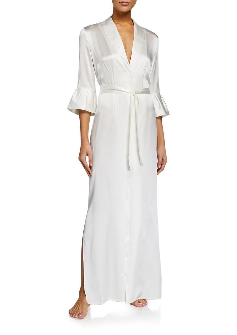 La Perla Exotique Silk Long Robe