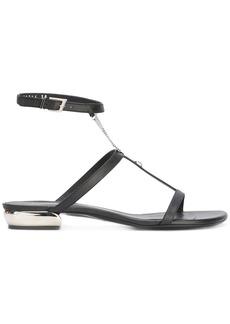 La Perla Flat sandals with chain