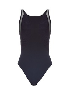 La Perla Cool Draping ruched-tulle swimsuit