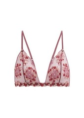La Perla Flower Explosion floral-embroidered triangle bra