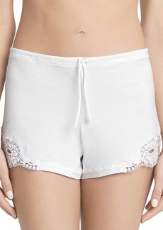 La Perla Souple Lace Trimmed Jersey Sleep Shorts