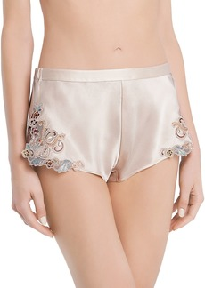 La Perla Maison Rainbow Satin Sleep Shorts