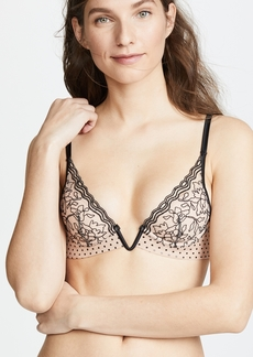 La Perla Marble Mood Padded Triangle V Bra
