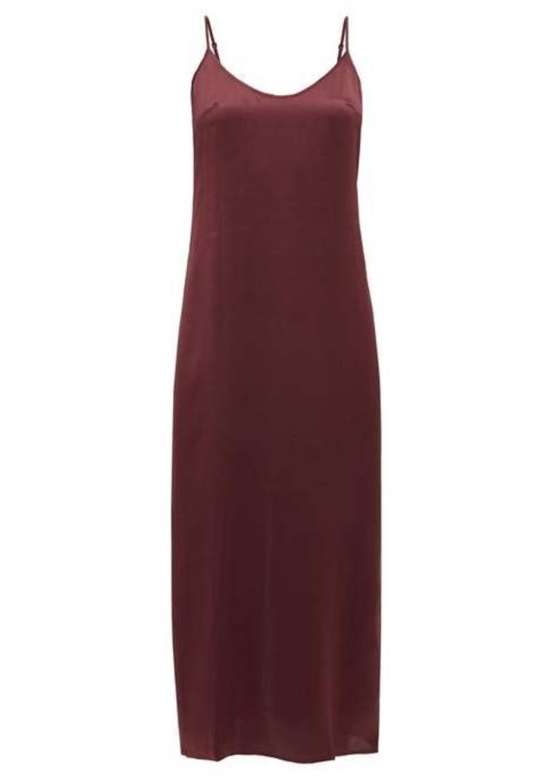 La Perla Scoop-neck silk-satin night dress