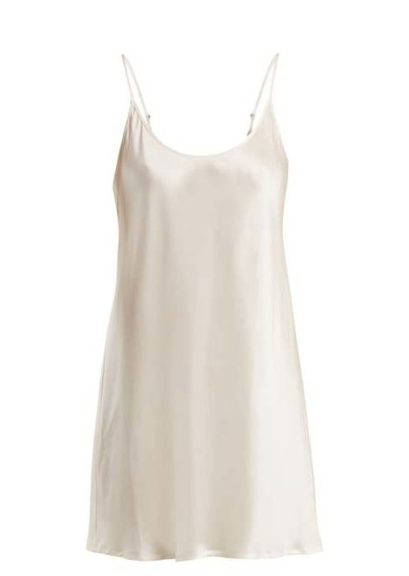La Perla Semplice silk-satin slip dress