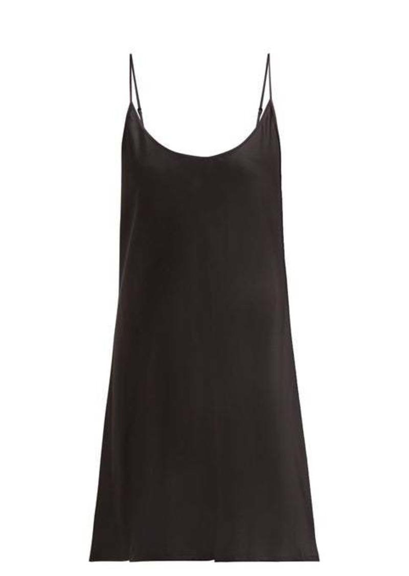 La Perla Semplice silk-satin slip dress