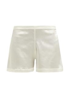 La Perla Silk-blend pyjama shorts
