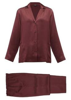 La Perla Silk-charmeuse pyjamas