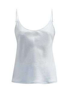 La Perla Silk-satin pyjama camisole top