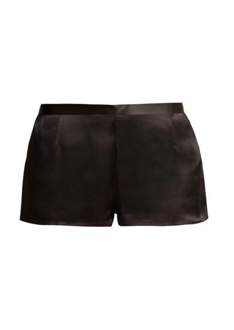 La Perla Silk-satin pyjama shorts