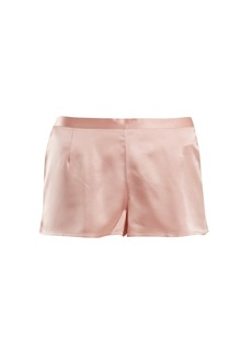 La Perla Silk-satin pyjama shorts