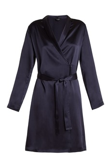 La Perla Silk-satin robe