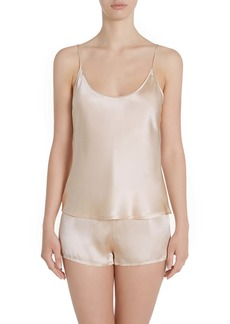 La Perla Silk Short Pajamas