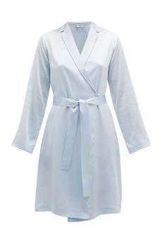 La Perla Tie-waist silk-satin robe