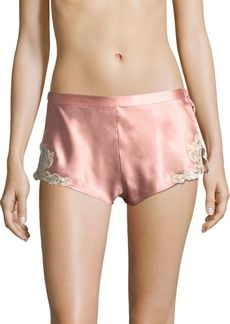 La Perla Lace Trim Shorts