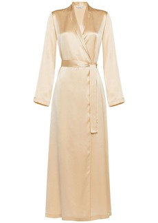 La Perla Long Silk Satin Robe
