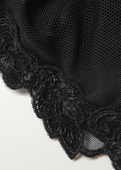La Perla Maison Contouring Embroidered Stretch-tulle Soft-cup Triangle Bra