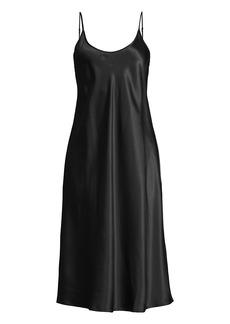 La Perla Midi Silk-Blend Night Gown