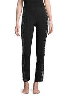 La Perla Organza Desert Rose Pajama Pants