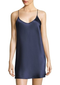 La Perla Short Sleeveless Silk Chemise