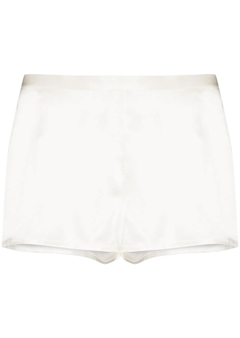 La Perla silk-satin night shorts
